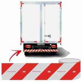 faixa em frota de caminhões