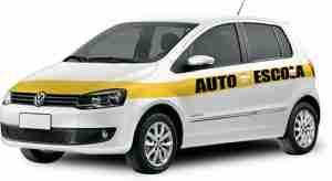 segurança do carro de autoescola