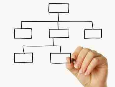 fluxograma de organização
